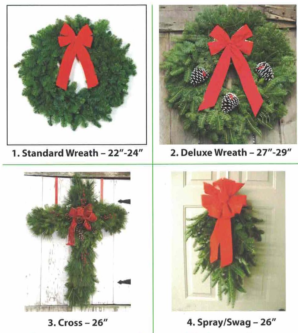 Wreath Options